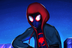 Miles Morales 4k Newart Wallpaper