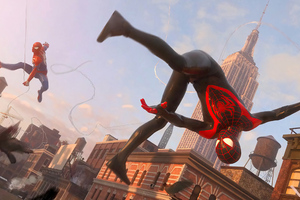 Miles Morales And Spiderman 4k Wallpaper