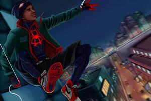 Miles Morales In New York