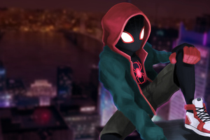 Miles Morales New York City