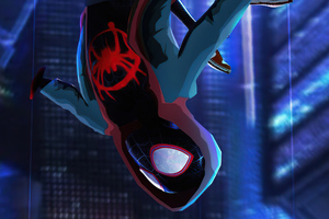 Miles Morales Rising 4k Wallpaper