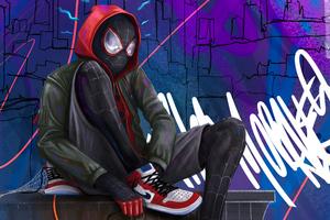 Miles Morales Spider 4k