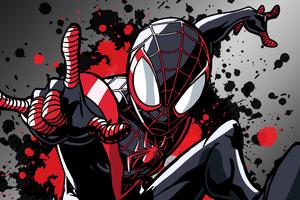 Miles Morales Spider Man 4k