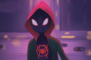 Miles Morales Spider Verse Artwork