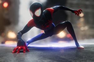Miles Morales Spiderman 2021