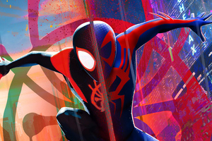 Miles Morales Spiderman 2099