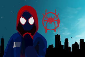 Miles Morales Spiderman Into The Spider Verse 4k