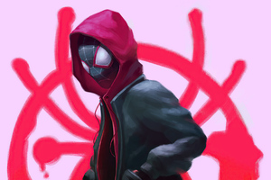 Miles Morales Spiderman Into The Spiderverse 4k Wallpaper