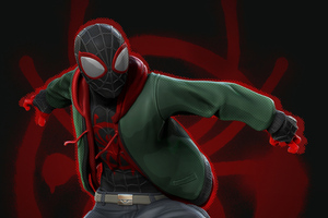 Miles Morales Spiderman Wallpaper