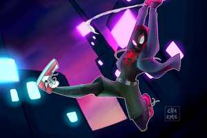 Miles Morales Spiderverse