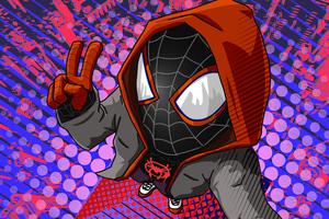 Miles New Spiderman