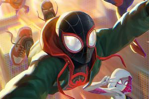 Miles Spider Man Artwork