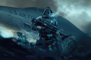 Military Man 4k Wallpaper