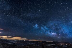 Milkway Glowing Stars Sky 5k Wallpaper