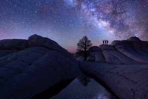 Milky Way Astro Photography Wallpaper