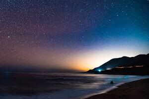 Milky Way Coast Wallpaper
