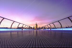 Millennium Bridge London 5k