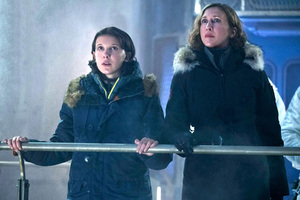 Millie Bobby Brown And Vera Farmiga In Godzilla King Of The Monsters