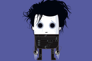 MiMe Edward Scissorhands Wallpaper