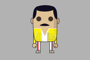 MiMe Freddie Mercury Wallpaper