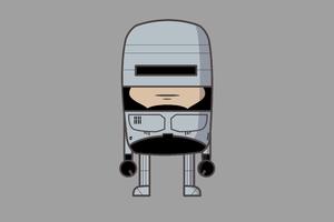MiMe Robocop Wallpaper