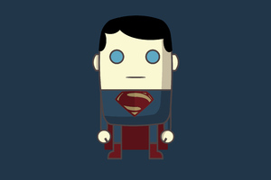 MiMe Superman Man Of Steel Wallpaper