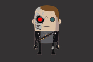 MiMe T800 Terminator 2 Wallpaper