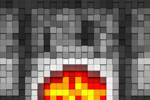 Minecraft 3d Blocks 5k Wallpaper