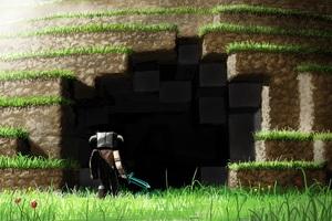 minecraft 4k wc