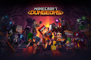 Minecraft Dungeons 2020 4k