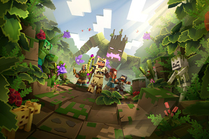 Minecraft Dungeons Jungle Awakens Hero