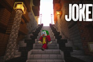 Minecraft Joker Lego Wallpaper