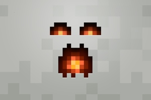 Minecraft Minimalism 4k Wallpaper