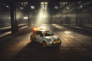 MINI Electric Pacesetter 2021 10k Wallpaper