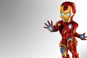 Mini Iron Man Wallpaper