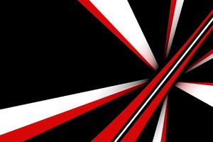 Minimal Abstract Red 4k Wallpaper