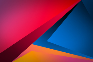 Minimal Shapes Sharp 4k Wallpaper