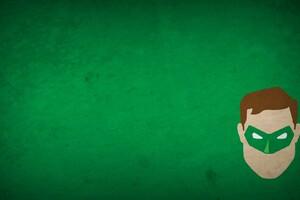 Minimalism Green Lantern