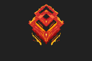 Minimalism Logo Devil