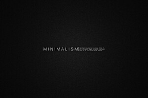 Minimalism Msg