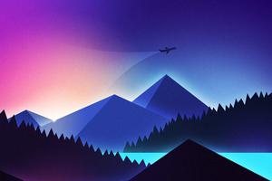 Minimalism Plane