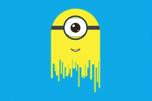 Minion Logo Illustration 5k