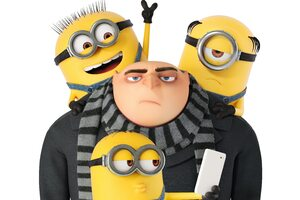 Minions And Gru Despicable Me 3 Wallpaper