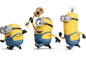 Minions Funny 2 Wallpaper