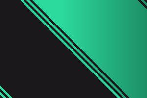 Mint Black Abstract 4k Wallpaper