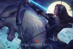 Mirana Dota 2 Artwork Wallpaper