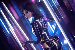 Miranda Lawson Mass Effect Cosplay Girl 4k Wallpaper