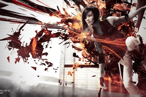 Mirrors Edge 2 HD Game Faith Cornors Wallpaper