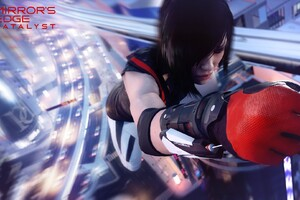 Mirrors Edge Calalyst Girl Wallpaper
