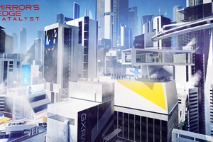 Mirrors Edge Catalyst Buildings Wallpaper